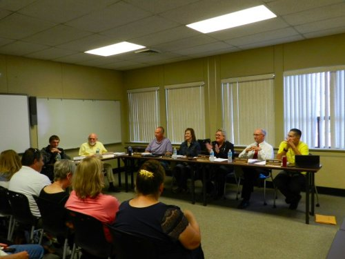 September 14 Board Meeting