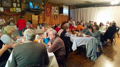 68th Annual Harvest Dinner photo courtesy of Jim Glaser