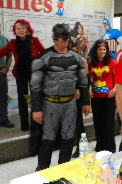 Best Male Costume - Doug Lindren as Batman