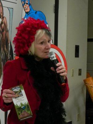 Burney Chamber President Jill Barnett as Cruella Deville