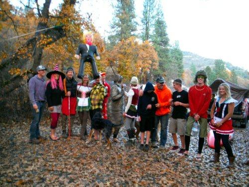Halloween October Fest celebration photo by Christine O'Conner