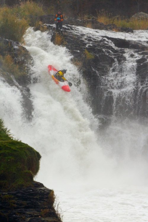 Over the falls photo by Christine O'Conner
