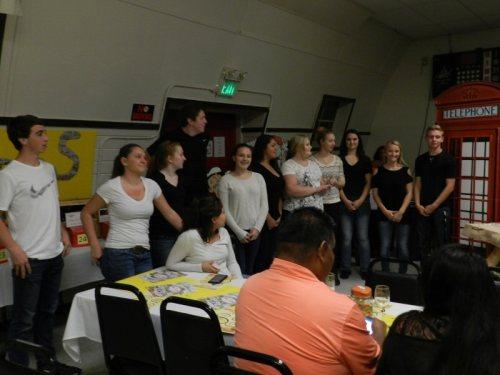 The Burney High School Leadership Class