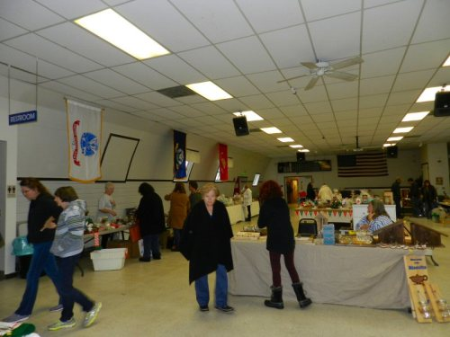 2015 VFW indoor yard sale