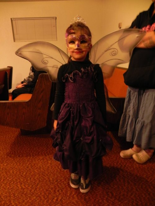 A beautiful young fairy