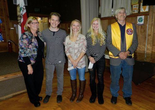 Becky Torgrimson, Billy Covert, Megan Arsenau, Kaitlyn Estes, and George Whitfield