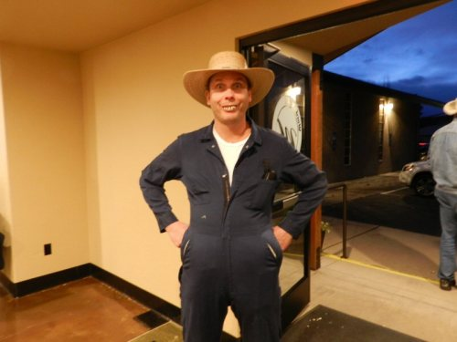 Local farmer Cory Yake