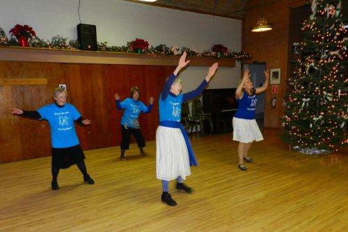 Redding International Folk Dancers at Burney Presbyterian Church