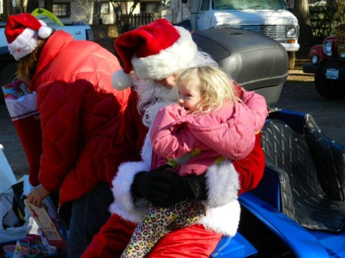 Santa at Rainbow's End