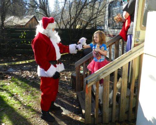 Special delivery by Santa