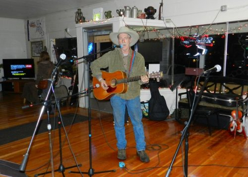 Jeff McNeil singing wonderful country and western songs