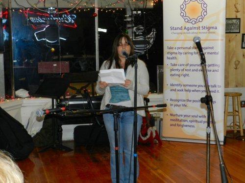 Tamara Lopez read three poems