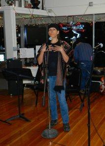 Verena Compton recites and Old German prayer