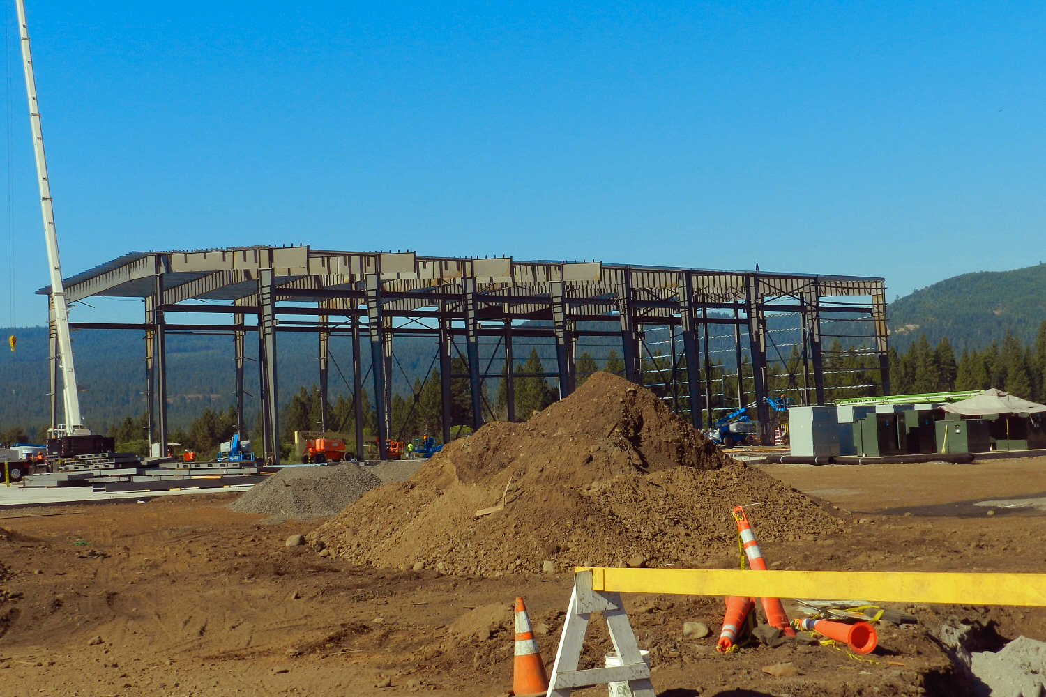 Sierra Pacific plans to have new Burney sawmill building completed